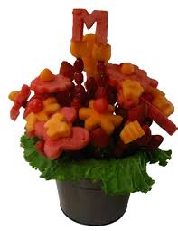 fruit arrangment fruit arrangement w initial delicious fruit paradise