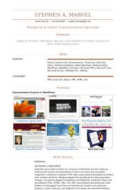 Examples Of Resume Templates by Publisher Resume Samples Visualcv Resume Samples Database