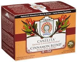 amazon tea amazon com tadin tea canelita cinnamon blend tea 24 count