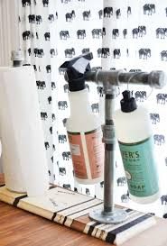 unusual paper towel holders how to make a paper towel holder that matches your kitchen
