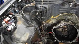 4 Runner Diesel Tdi 4runner Build Pt 1 Removing Old Engine U0026 Interior Youtube