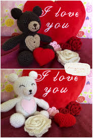 valentines day teddy s day teddy free crochet pattern amigurumiguru