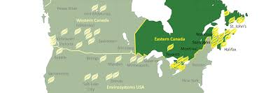 Moncton Canada Map by Envirosystems East Envirosystems Inc