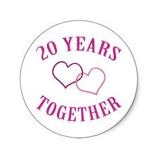 20 year wedding anniversary ideas 14 best 20 years of marriage images on anniversary