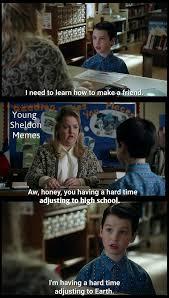 Sheldon Meme - young sheldon memes home facebook
