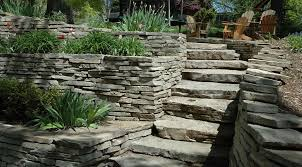 Retaining Wall Ideas For Sloped Backyard Crescent Dc Stone Retaining Walls In Fairfax Northern Va Md