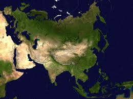 Map Of Asian Countries Large Detailed Satellite Map Of Asia Asia Large Detailed