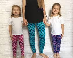Plus Size Mermaid Leggings Women U0027s Leggings Etsy