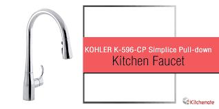 kohler simplice kitchen faucet kohler k 596 cp simplice single pull kitchen faucet review