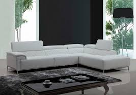 Modern White Sectional Sofa by Modern Brown Eco Leather Sectional Sofa With Audio System Vg 482