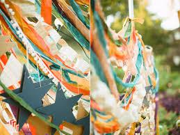 Backyard Fort Worth - colorful fort worth wedding ruffled