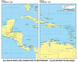 Belize On Map Www Rotterdamtransport Com World Port Maps