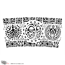 best armband tattoo designs rā marama sun moon this armband tattoo requested by paulo