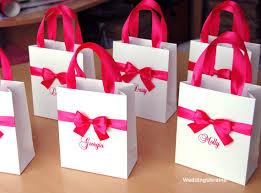 bridal party gift bags hot pink bridesmaid s gift bags bridal party gift bag
