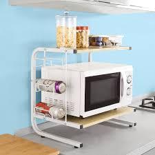 rangement de cuisine sobuy frg092 n meuble rangement cuisine de service en bois