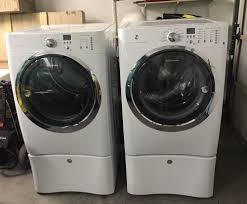 Frigidaire Laundry Pedestal Front Load Washer And Dryer Ebay