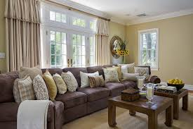 burlap decorative pillow family room traditional with coffee table