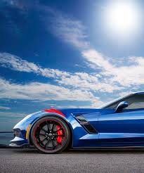 special edition corvette gets an admiral blue special edition chevrolet corvette grand sport