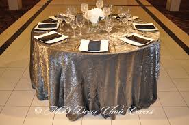 silver crushed satin tablecloth md decor chair covers