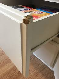 Removing Thermofoil From Cabinets Kitchen Thermofoil Cabinet Repair