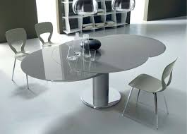 tavoli da sala da pranzo moderni gallery of tavolo rotondo allungabile per la sala da pranzo tavoli