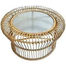 round rattan side table wicker basket chair round smallserver info