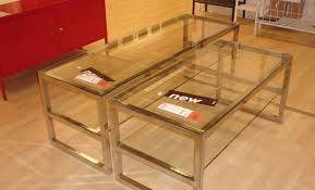 coffee tables appealing glass coffee and side table sets