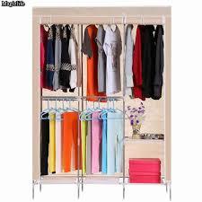 Clothes Cabinet Furniture Folding Cloth Wardrobe Portable Clothes Closet Cloth
