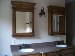 wood framed recessed medicine cabinet recessed medicine cabinets with wooden frames installed in the