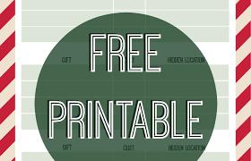 free printable christmas gift tracker stuffed suitcase