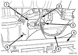 blower motor resistor location 2002 t u0026c chrysler forum