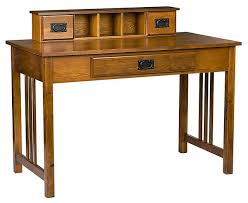 Murphy Style Desk Mortensen Mission Style Desk Craftsman Desks And Hutches Franklin