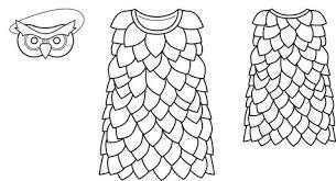 owl costume owl costume 01 2013 145 sewing patterns burdastyle