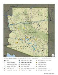 Map Of Arizona State by Arizona Profile