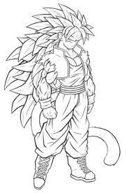 imagenes de goku para dibujar faciles con color goku dragon ball z anime coloring pages for kids printable free