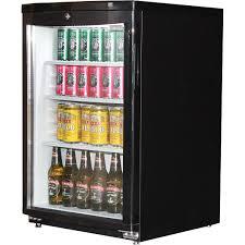 dellware commercial glass door bar fridge 92litre delivery
