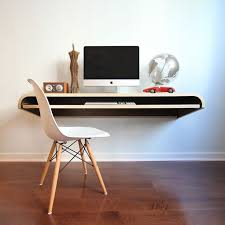 depiction of ikea floating desk selections with lack shelf