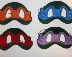 ninja turtle mask etsy