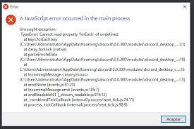 discord javascript error temas de cor para discord chions of regnum