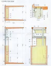desk plans computer desk plans u2022 woodarchivist