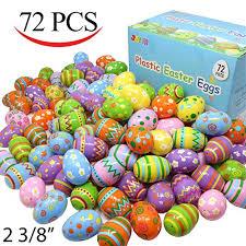 easter egg stuffers shiny metallic plastic easter eggs for easter egg hunts for kids