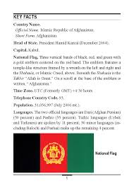 Country Code Flags Marine Corps Intelligence Activity Afghanistan Country Handbook