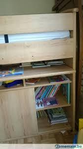 bureau superposé lit enfant avec bureau superposé et matelas a vendre 2ememain be