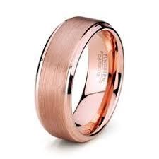 cincin tungsten carbide king will 8mm black mens tungsten carbide ring matte wedding band