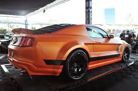 Black Mustang Boss 302 Sema 2011 Galpin Widebody Mustang Boss 302 X Mustangs Daily