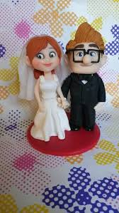 up cake topper pixar up wedding cake topper in polymer c by simonaz on deviantart