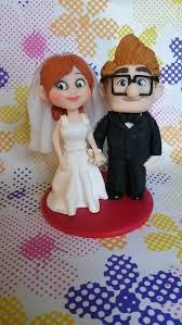 up cake topper pixar up wedding cake topper in polymer c by simonaz on deviantart