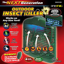 Small Red Bugs On Patio by Amazon Com Oneshot Hanging Or Tabletop Bug Zapper With Led