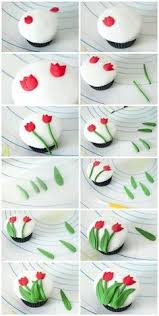 porcelain fallos ring holder images Easy way to shape fondant flowers cake decorating pinterest jpg