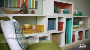 How To Make Wooden Shelving Units by How To Create Your Own Shelves Youtube